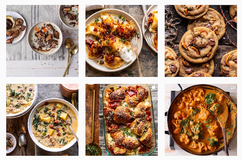 Everything that entertained us in 2019: Tieghan Gerard's Half Baked Harvest Instagram feed