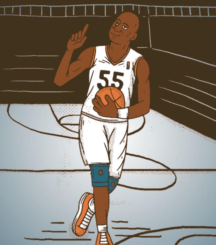 Stand Up Guys: Basketball legend Dikembe Mutumbo