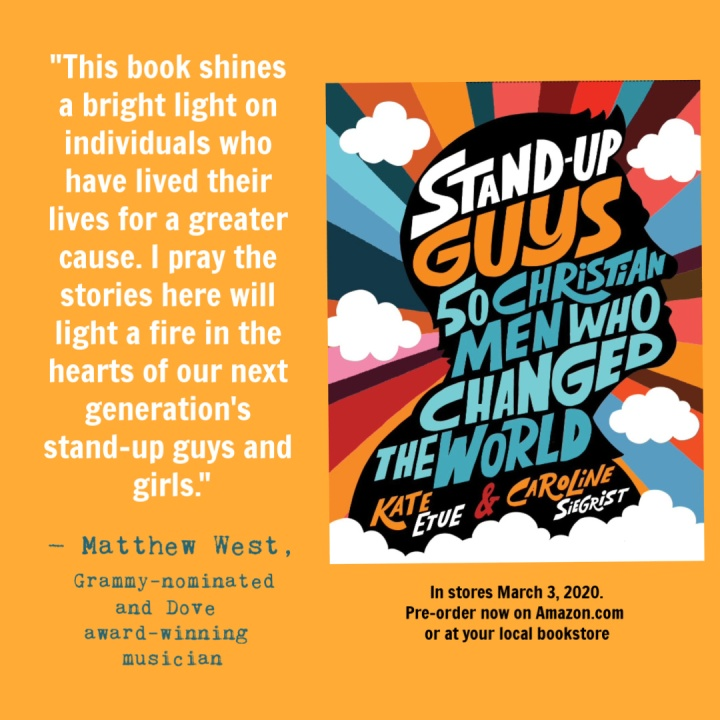 Stand Up Guys endorsement from Matthew West