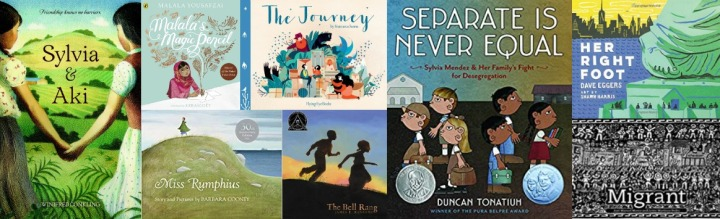 Spilled Milk's 2020 Summer read-aloud list | Social Justice books for kids