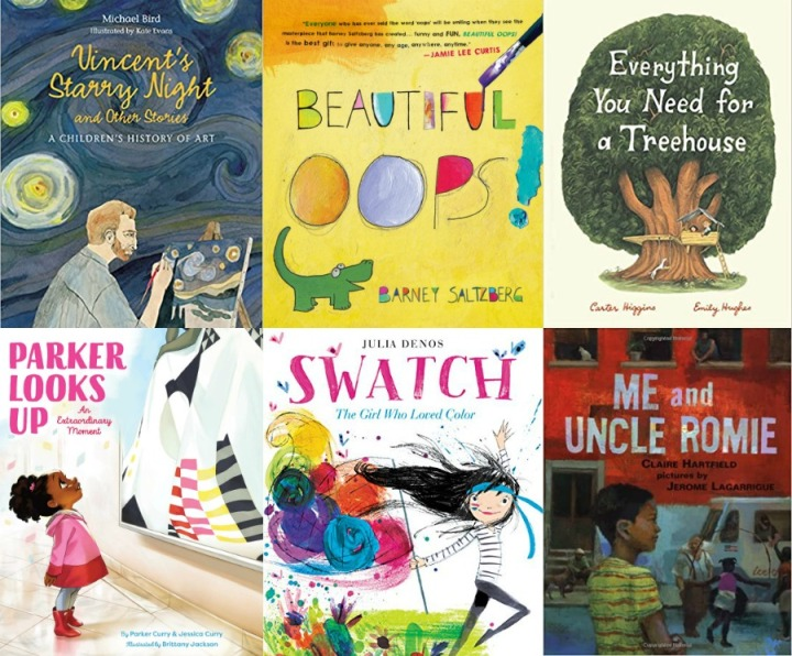 Spilled Milk summer 2020 read-aloud list: Books about art and beauty for kids