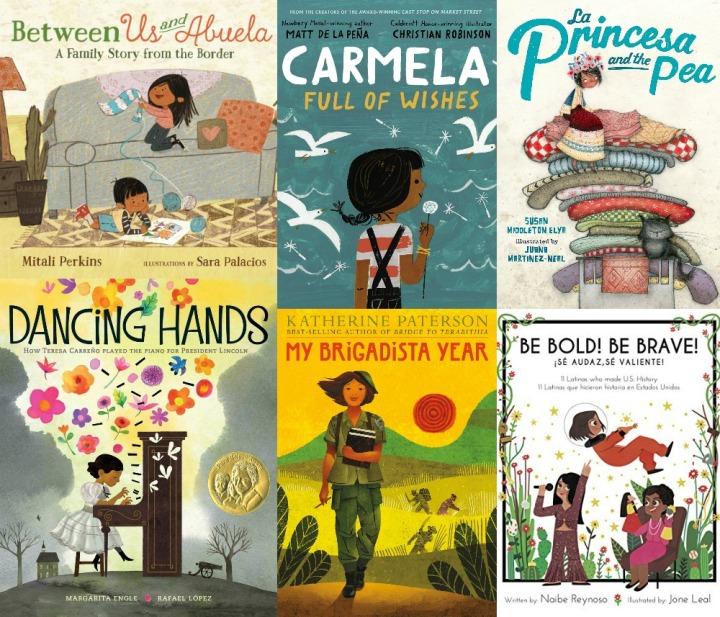 Spilled Milk summer 2020 read-aloud list | Books about Hispanic lives for kids