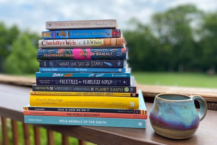 Spilled Milk's 2020 printable summer read-aloud list | must-read books for kids & moms