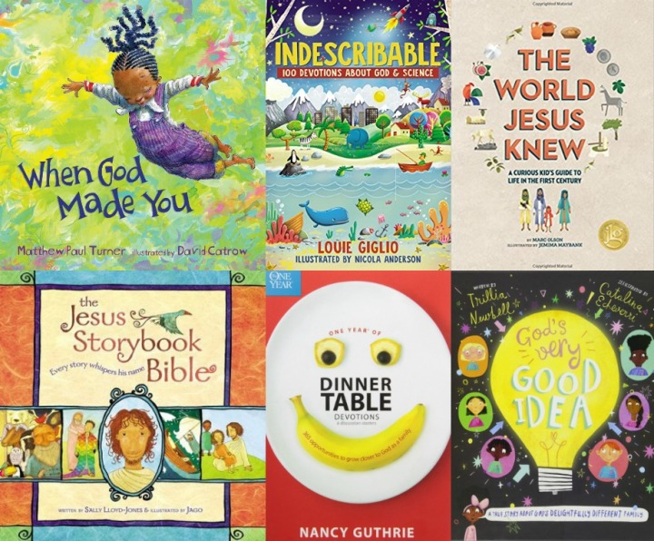 Spilled Milk's summer 2020 read-aloud list | great Christian faith books for kids
