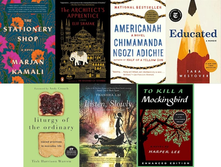 Spilled Milk's summer 2020 reading list | Engaging & thoughtful books for women