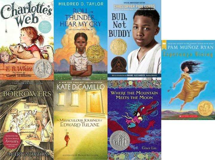 Spilled Milk summer 2020 read-aloud list | Classic children's books picks