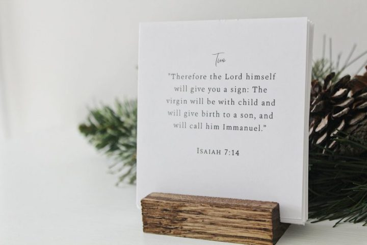 Gifts for advent season: A daily Scripture reading calendar for advent, from Ruminate by Rachel