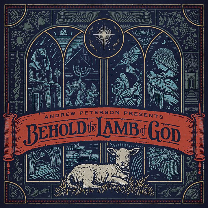 Gifts for advent season: Andrew Peterson's Behold the Lamb of God Christmas album