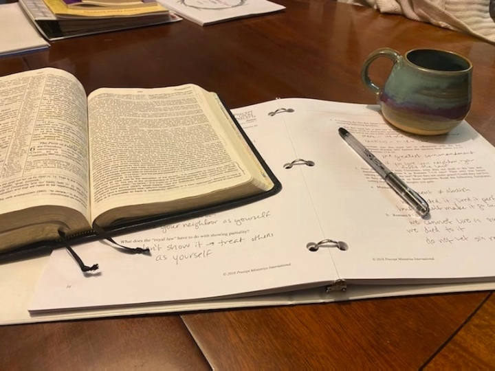 12 things I loved in 2020: Coffee and Bible study in the mornings